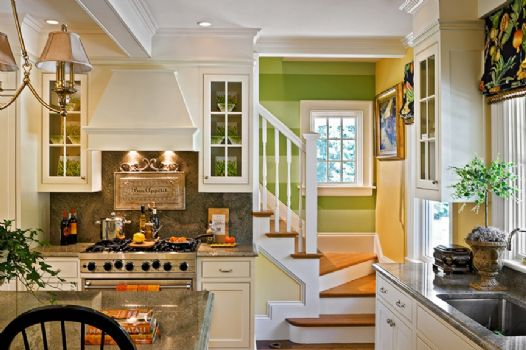 Kitchen and Back Stair -
