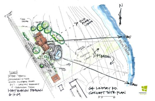 Proposed Site Plan -